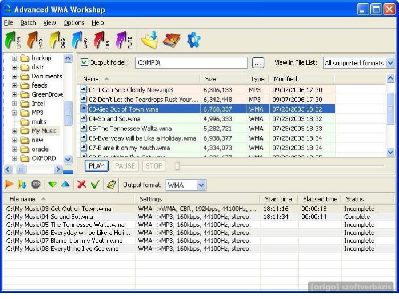 Advanced WMA Workshop 2.7. . Soft-Base.com - скачать бесплатные программы