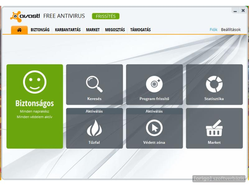 Avast antivirus home edition 4.8.1368 registred