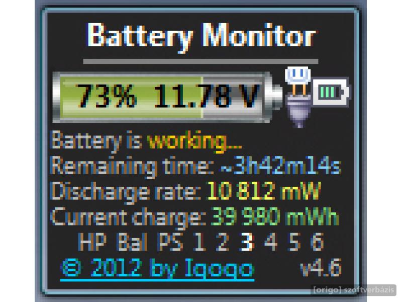 Laptop Battery Monitor : Alertsprogram