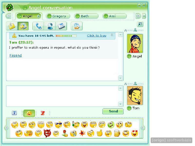 Официальный клиент ICQ от компании AOL с богатым функционалом и наличием ре