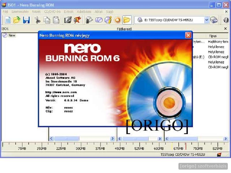 Nero Burning ROM v6 6. 0. 12 Ultra Edition info: Nero Burning ROM is THE so